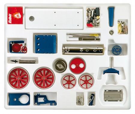 D415 Kit de tractor para montar Wilesco