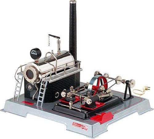 D222 Máquina de Vapor eléctrica Wilesco