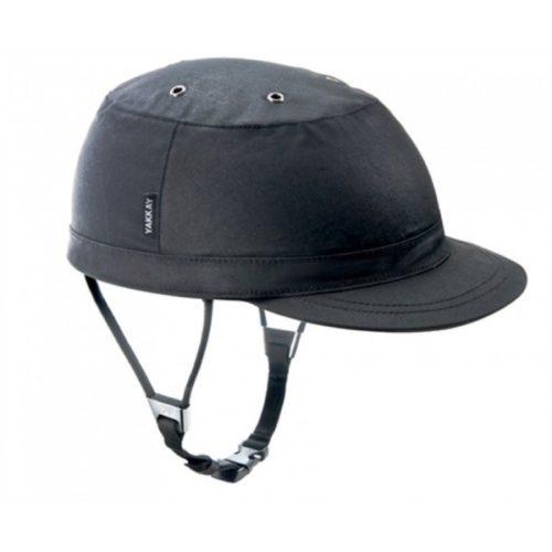 funda Paris black oilskin casco Yakkay