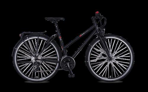 T-500 Bicicleta con cuadro de acero